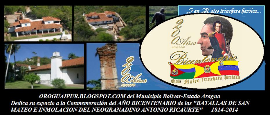OROGUAIPUR.BLOGSPOT.COM del Municipio Bolívar-Estado Aragua