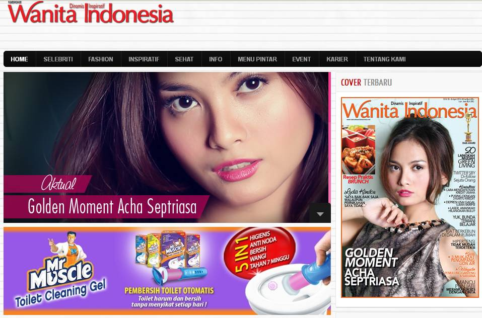 Tabloid wanita Indonesia ::: Dinamis inspiratif