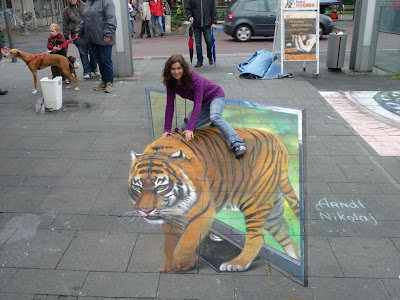 Girl Riding Tiger Seen On www.coolpicturegallery.us