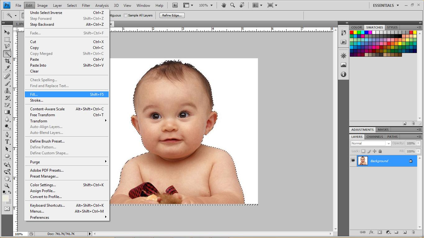 Cara Mudah Membuat Siluet dengan Photoshop - Tutorial