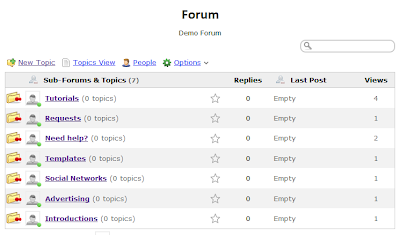 create a forum for blogger with nabble