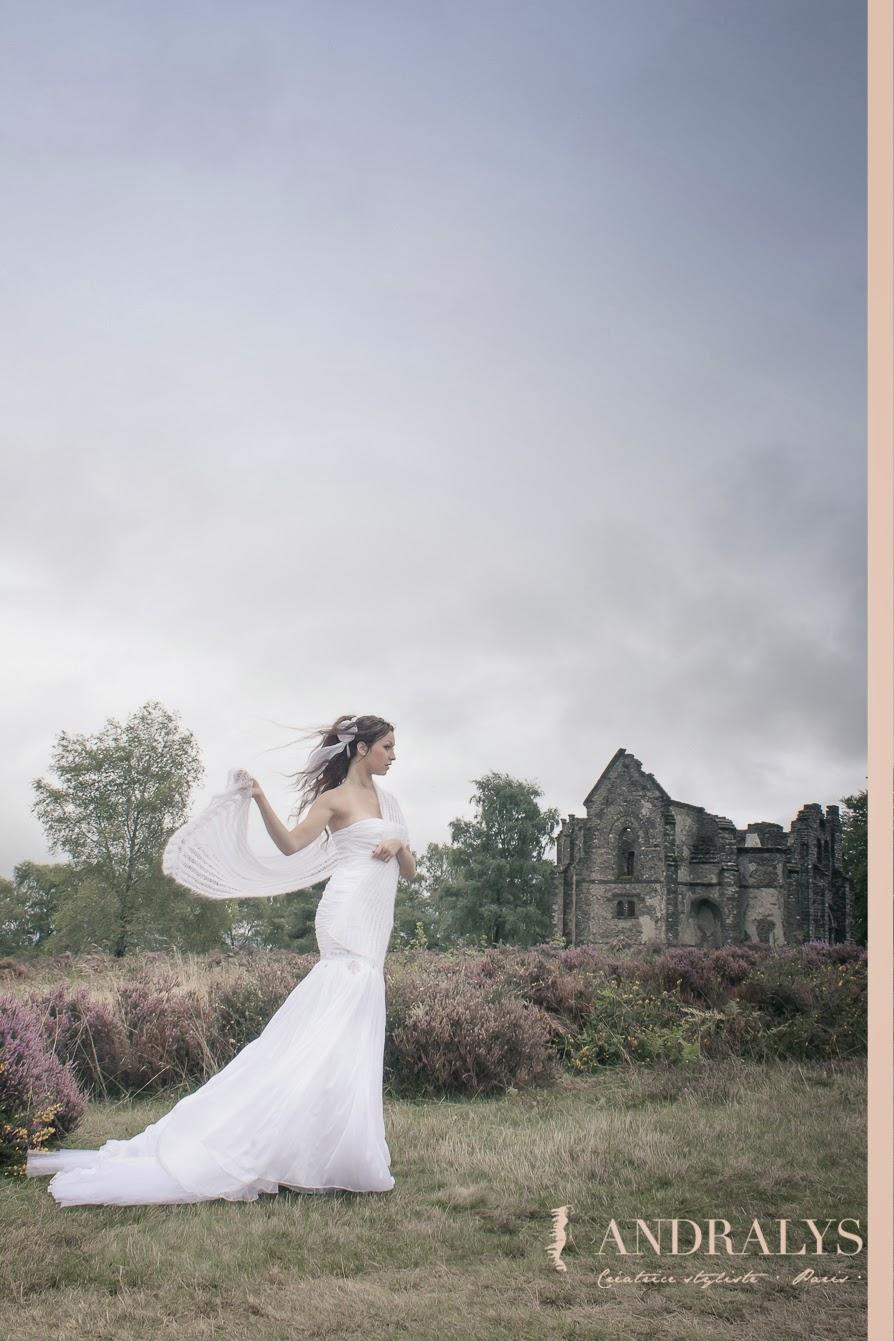 Robes de mariée d'hiver Celtic