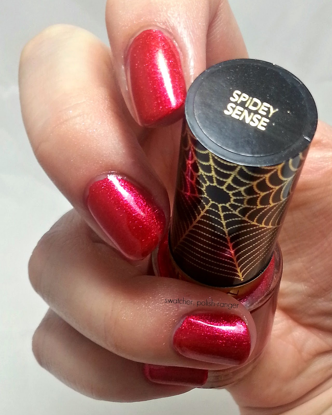 Revlon Electric Chrome Collection LE Spidey Sense swatch