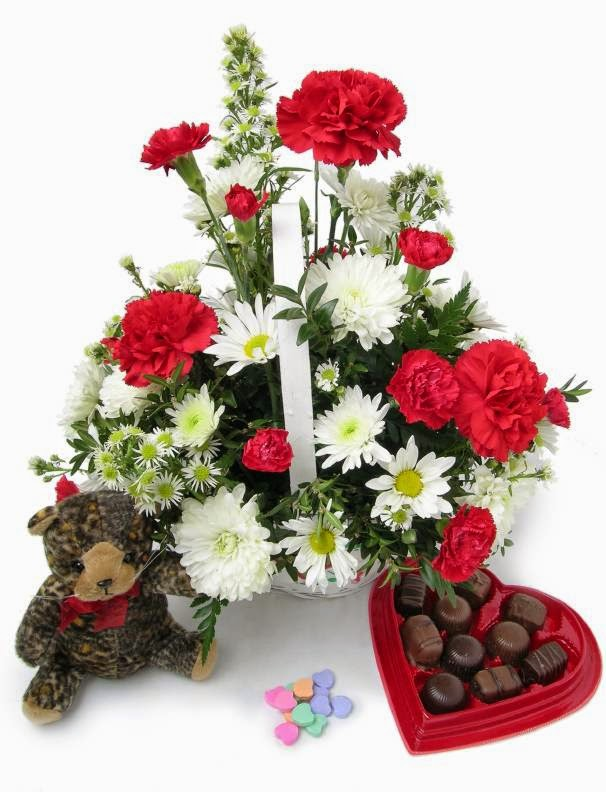 valentine day flowers Quotes and wallpapers