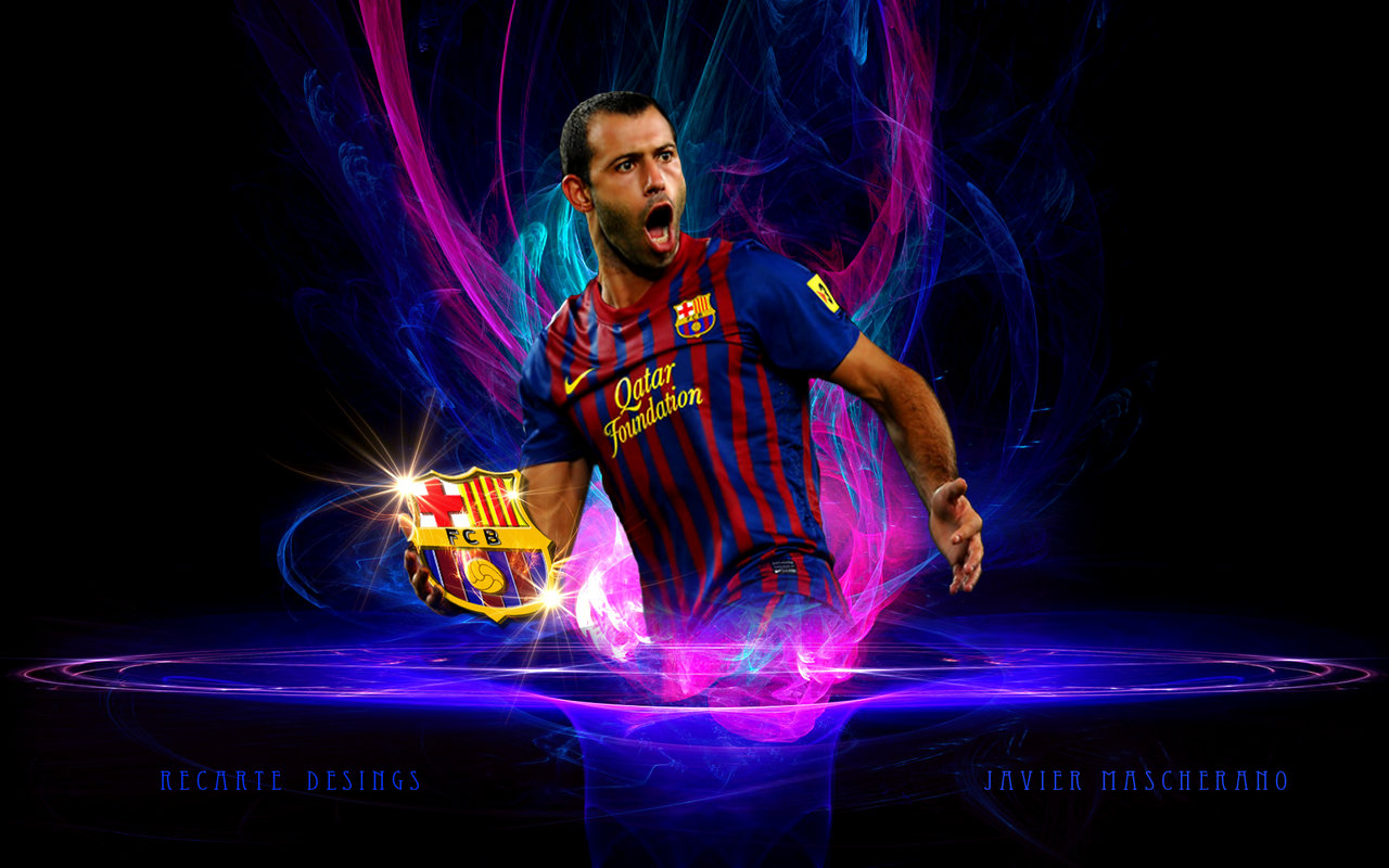 Javier Mascherano - Fc Barcelona Wallpapers picture wallpaper image