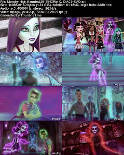 Monster High Haunted (2015) HDRip XviD AC3-EVO