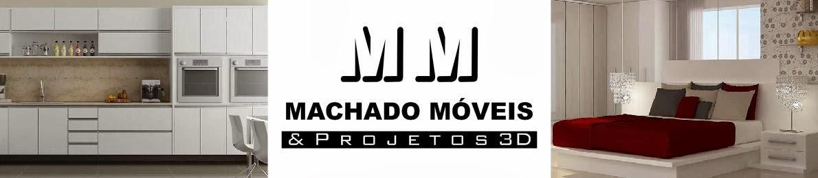 Machado Móveis e Projetos 3D - (47) 3419 0455