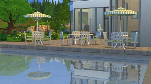 piscinas sims 4