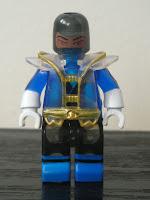 Power Rangers Super Samurai Mega Bloks Translucent Super Blue Ranger 02