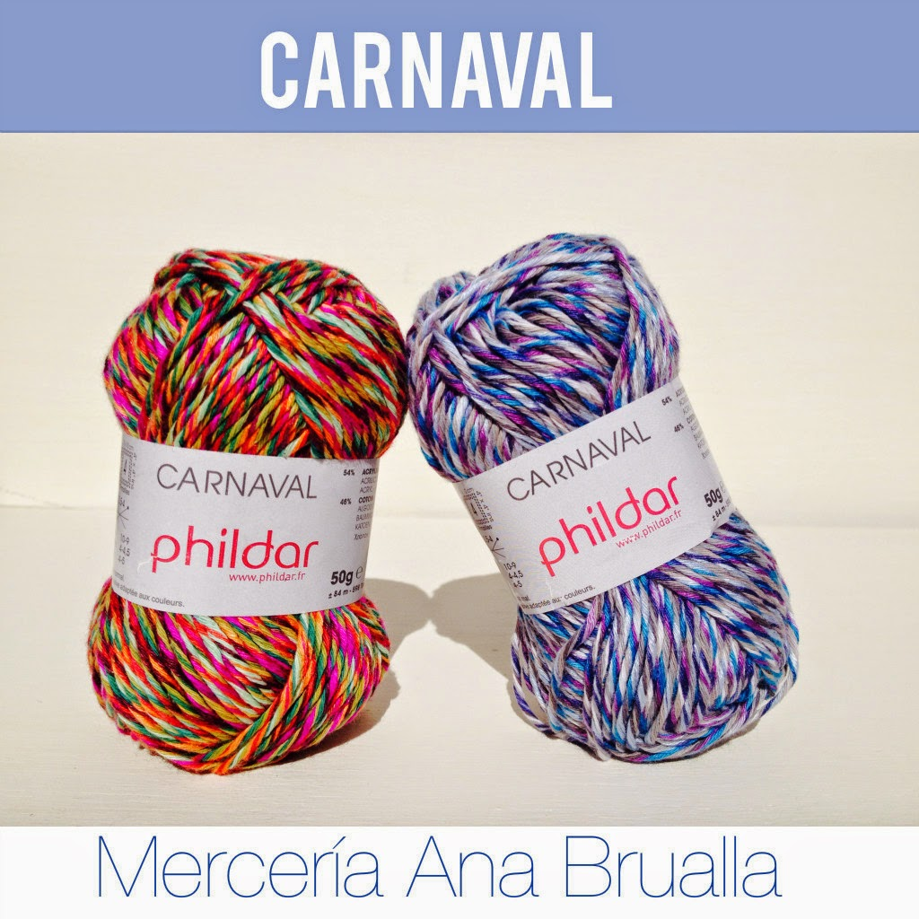 Carnaval ovillos de Algodón de Merceria online Brualla