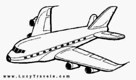 airplane coloring sheet free coloring sheet