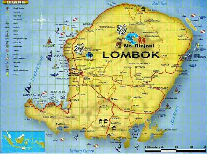 wisata ke lombok ala backpacker