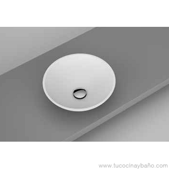 Lavabo solid surface bol bowl redondo