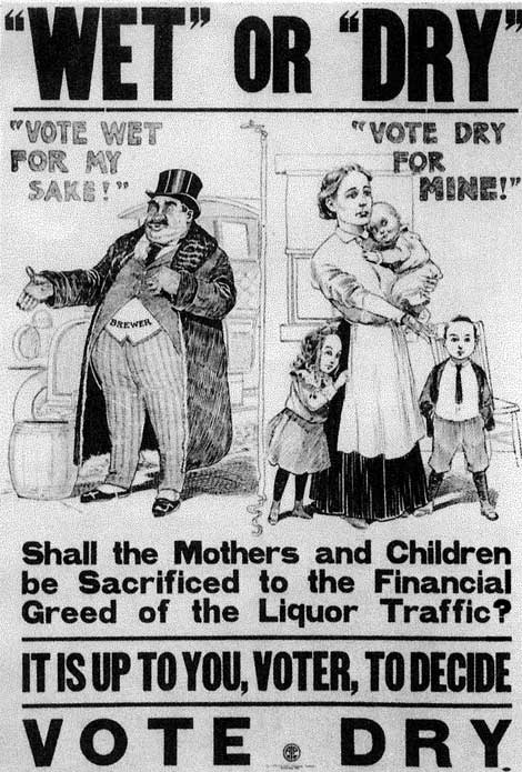 the effects of the prohibition laws during the great depression in usa in the 1920s Feared and revered, american gangsters of the 1920s prohibition era and the 1930s depression period, controlled liquor sales, gambling, and prostitution.