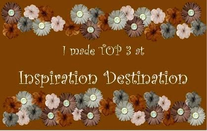 I made Top 3 at Inspiration Destination