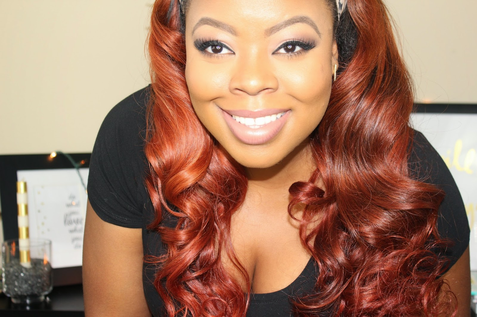All About My Red Hair Naja Diamond