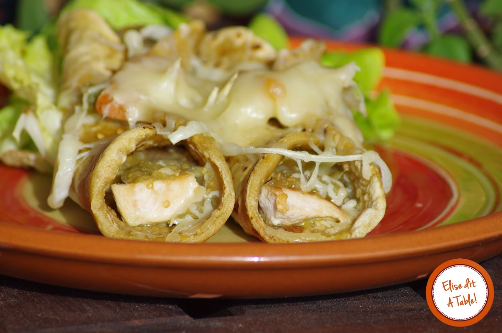 recette Enchiladas de poulet