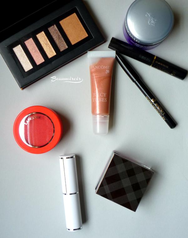Makeup haul Lancome Burberry