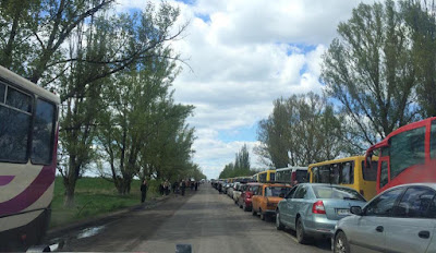 The Headquarters of the Anti-Terrorist Operation introduced new rules for crossing the line of demarcation