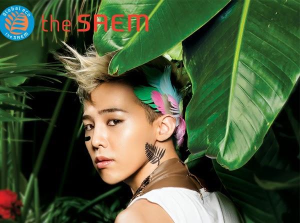 Image of BIGBANG GD for the Saem - pinknomenal.blogspot.com