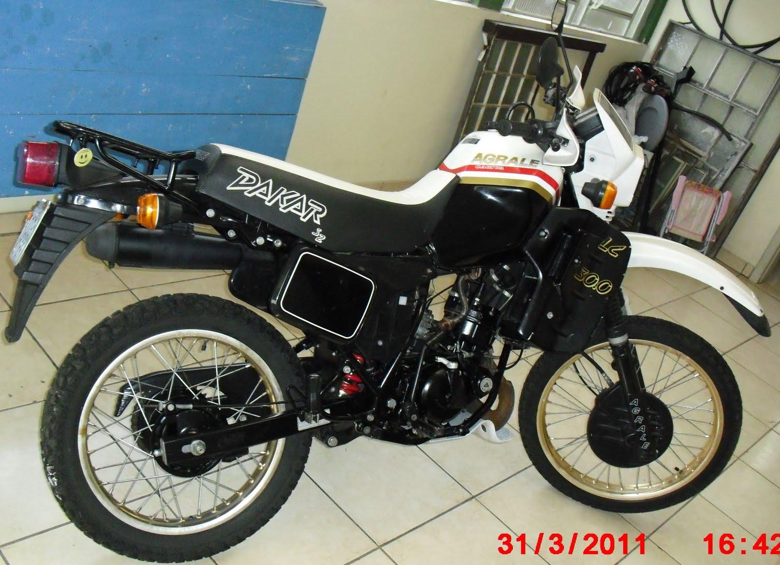Fbm Motos Agrale Dakar 30 0
