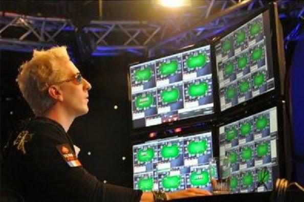 mass multi-tabling rakeback grinder versus bumhunter at micro stakes cash games