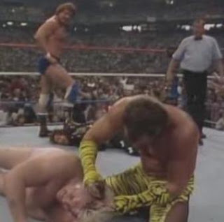 WWF / WWE WRESTLEMANIA 3 - The birth of Brutus 'The Barber' Beefcake