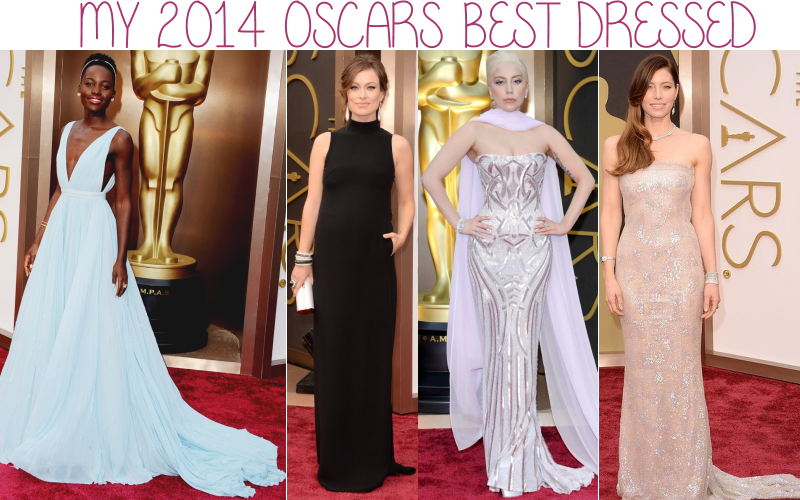 2014 Oscars best dressed