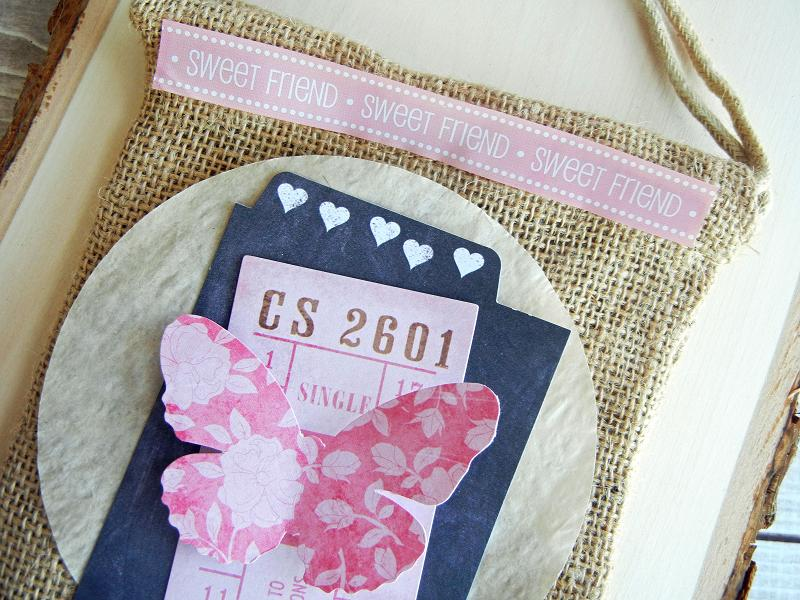 SRM Stickers Blog - Burlap Bags by Angi - #birthday #burlap #bag #stickers #gift bag