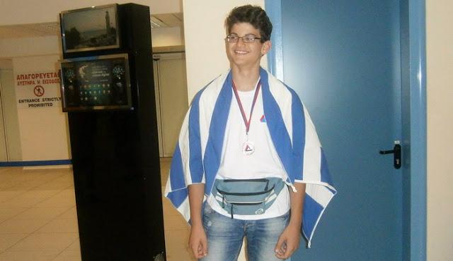 Μαθητής του 3ου Γυμνασίου Αλεξανδρούπολης κατέκτησε το χάλκινο μετάλλιο στην 19η Βαλκανική Μαθηματική Ολυμπιάδα