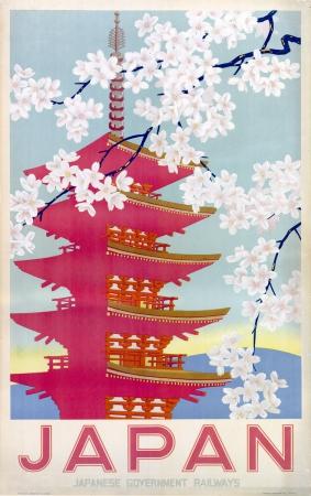 Vintage Travel Posters Japan
