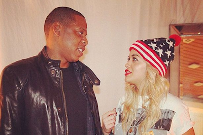jay z and Rita Ora