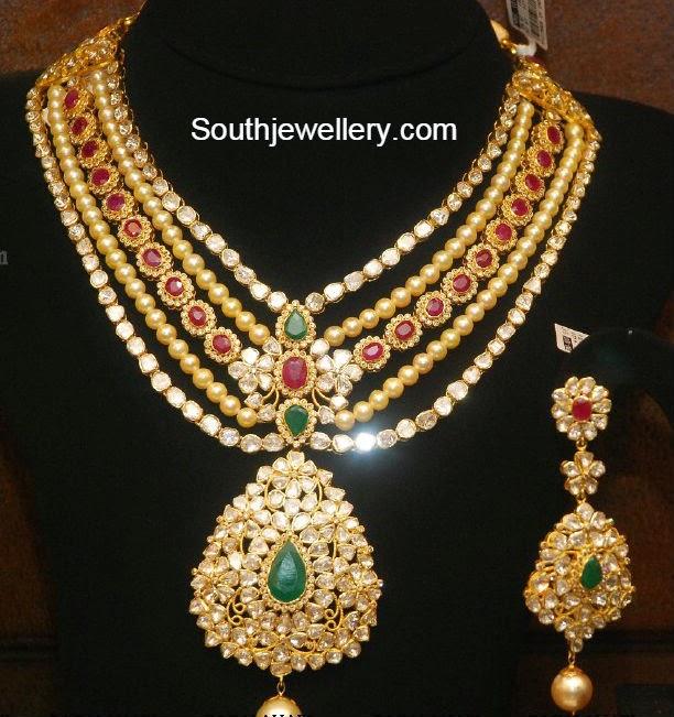 indian bridal necklace models