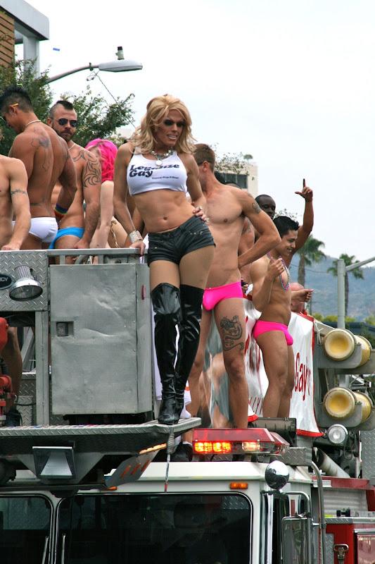 Morgan McMichaels WEHO Pride Parade 2011