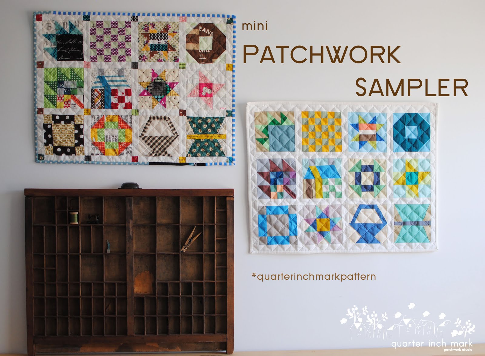 mini Patchwork Sampler Sewing Pattern