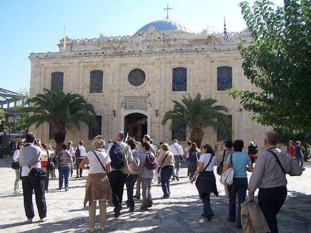 Aziz Titus Kilisesi yada Vezir Camisi; Heraklion