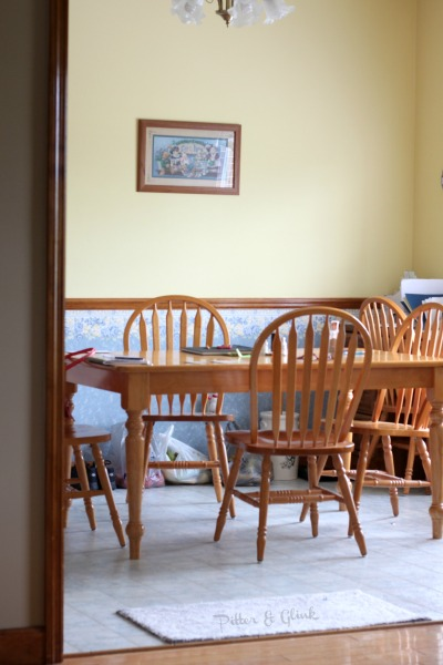 Dining Room Before pitterandglink.com