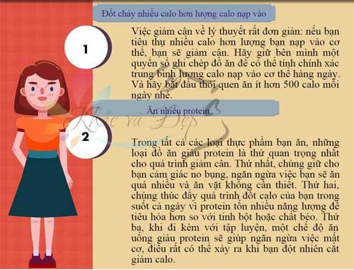 5 nguyên tắc vàng cho quá trình giảm cân nhanh - an toàn