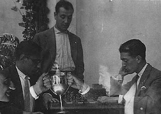Partida de ajedrez Joan Claret Muntaner contra Joan Vilajosana en 1929
