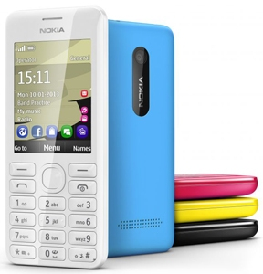 Creating a bold statement with the Nokia 206