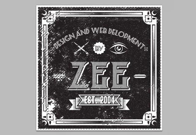 A Zee Vintage Label
