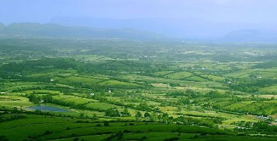No really...Ireland's landscape really is that green!
