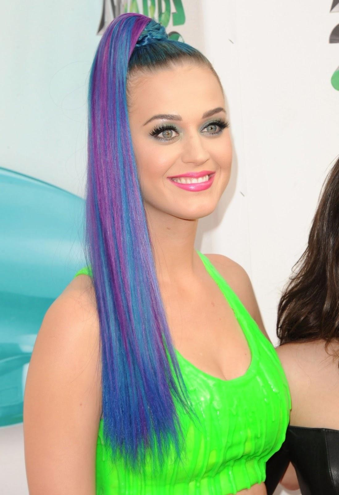Katy Perry: Katy Perry Greenhair Katy Perry