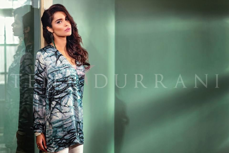 Tena Durrani summer lawn collection 2015