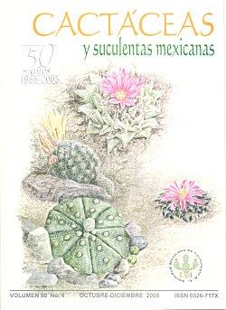Revista cact ceas y suculentas mexicanas for Cactaceas y suculentas