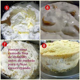 Bolo de pêssego Zero Açúcar passo a passo