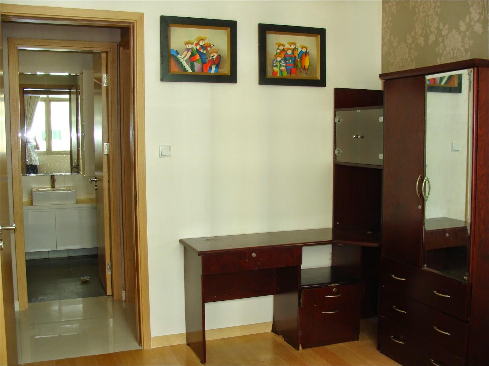 Phòng ngủ căn hộ The Vista
