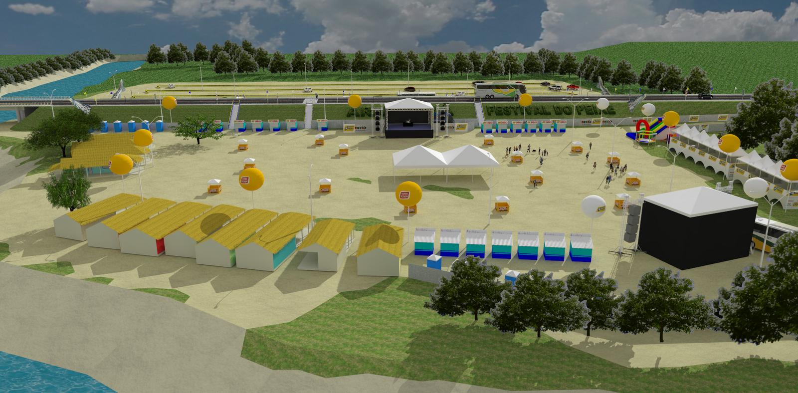 maquete do Festival (clique na imagem para ampliar) #182B81 1600 788