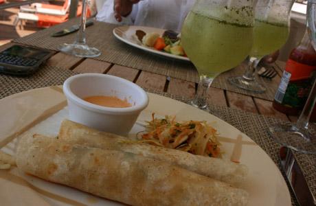 Now Amber, Puerto Vallarta, tacos de camarón