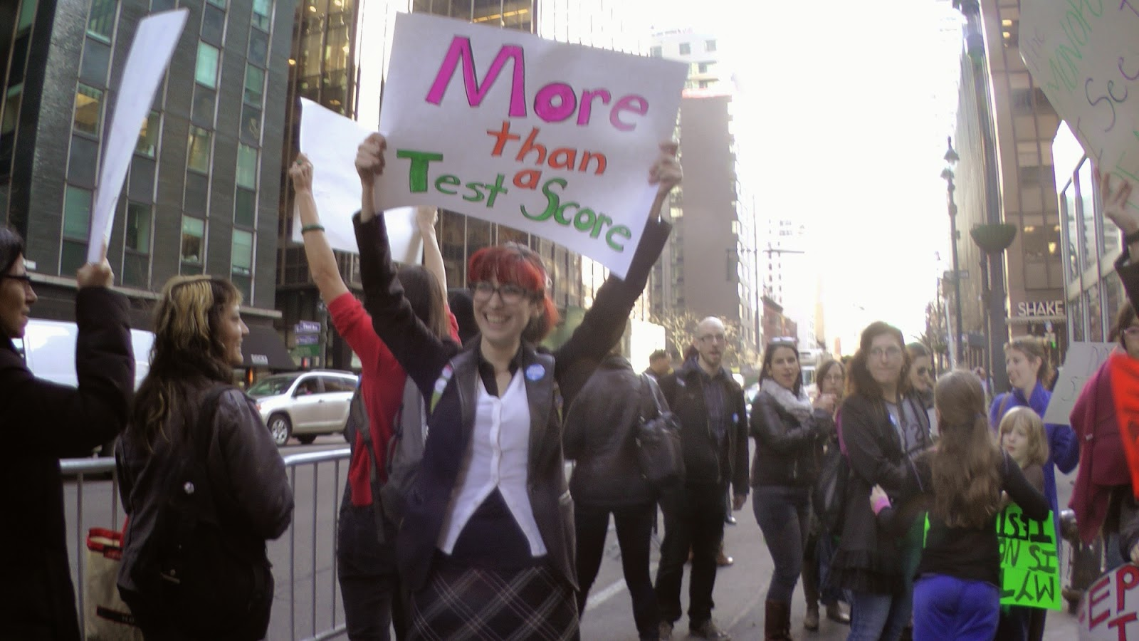 Good Ed Notes Online: Brooklyn District 15 Teachers And Parents Rally At Cuomou0027s  Manhattan Office